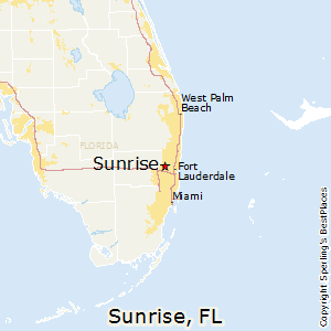 Best Places to Live in Sunrise Florida
