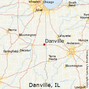 Best Places to Live in Danville Illinois
