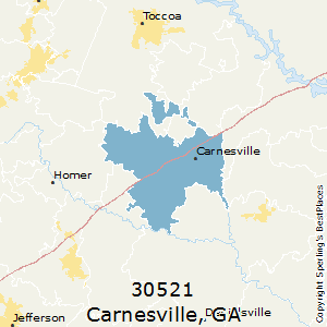 Best Places to Live in Carnesville zip 30521 Georgia