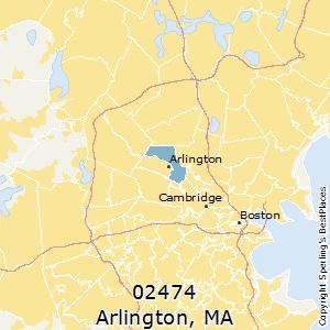 Best Places to Live in Arlington zip 02474 Massachusetts