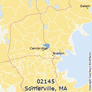 Somerville Zip Code Map Zip Code Map