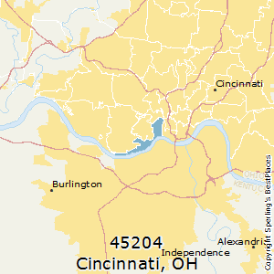 Best Places to Live in Cincinnati zip 45204 Ohio
