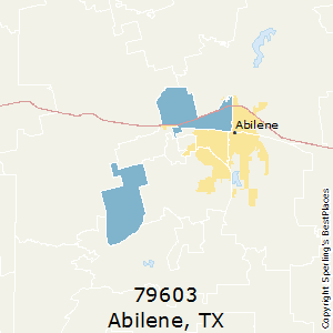 Best Places to Live in Abilene zip 79603 Texas