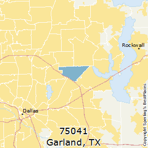 Best Places to Live in Garland zip 75041 Texas