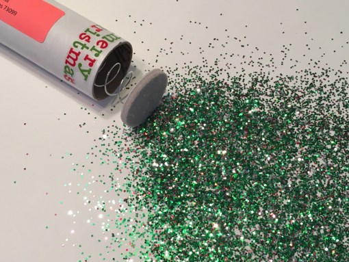 Glitter Bomb Merry Christmas