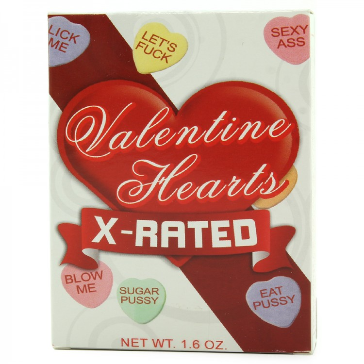x rated valentine heart candy