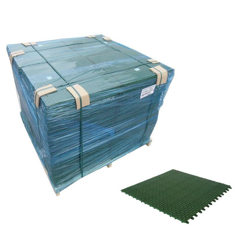 Pavimento plastica giardino componibile  Multiplate Verde