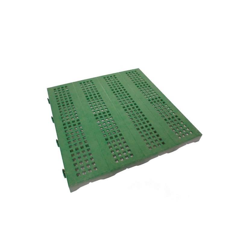 Pavimento componibile in plastica per giardino 60  bancale