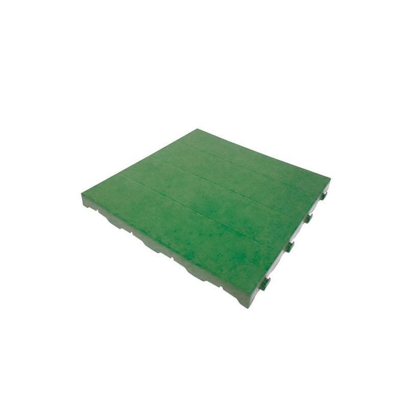 Piastrella in plastica per pavimentazione giardino  Pontarolo  40x40