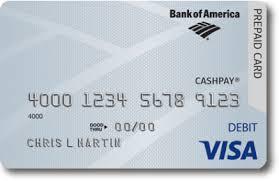 Bank of America CashPay Prepaid Visa Debit Card Full Review & Ratings