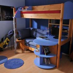 White Swivel Desk Chair Uk Best Chairs Reddit Stompa Casa 3 High Sleeper - Buy Online At Bestpricebeds