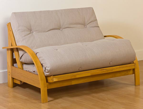 best small sofa bed uk polywood mission kyoto new york 2 seater futon deluxe - buy online at ...