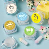 Unique Baby Boy Shower Favors, Lip Balms  FREE Assembly
