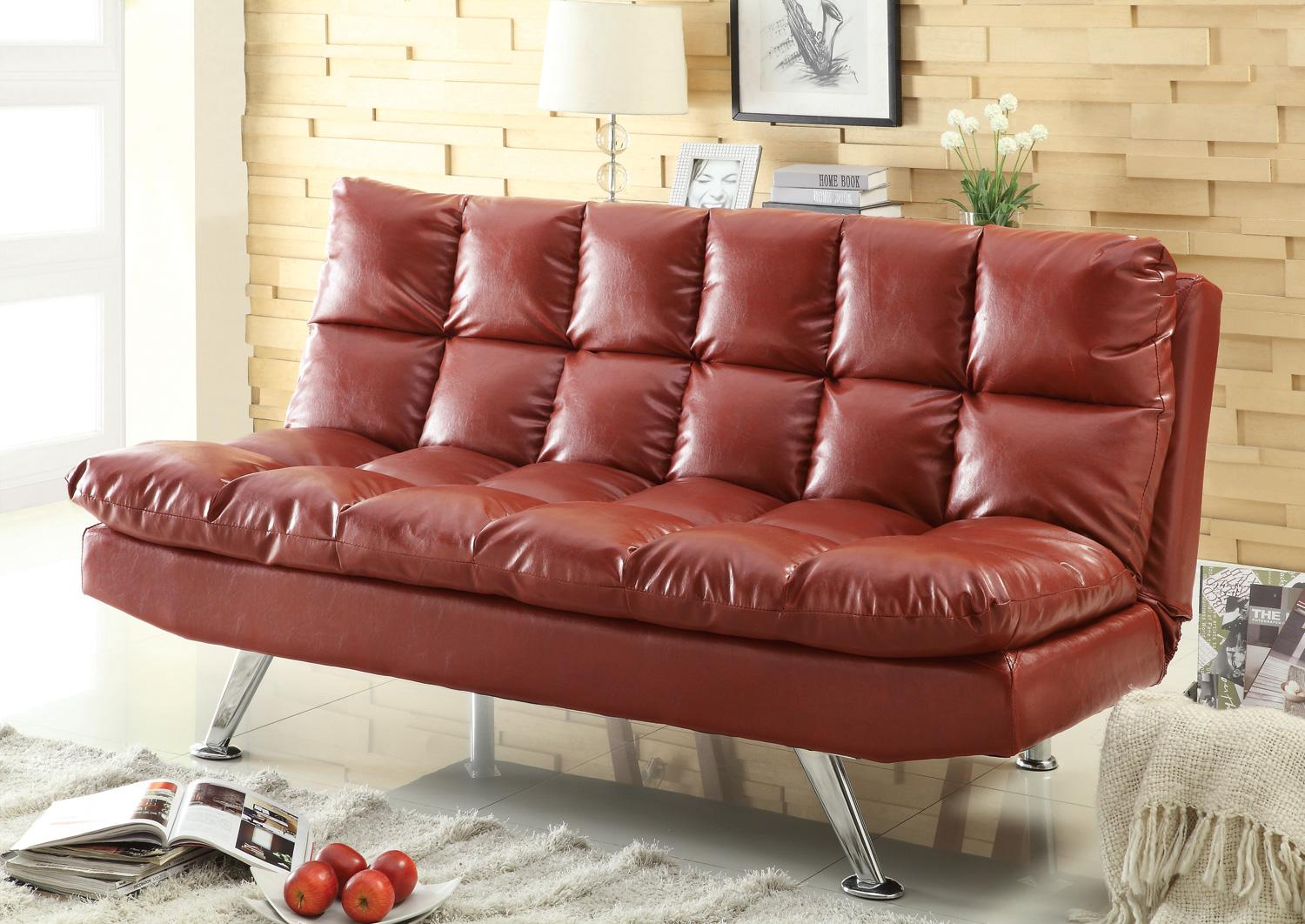 black vinyl futon sofa sofas for sale in los angeles futons