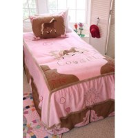 Cowgirl Horse Twin Bedding Set