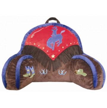 plush animal rocking chairs chairman en espanol kids cowboy v bedrest pillow