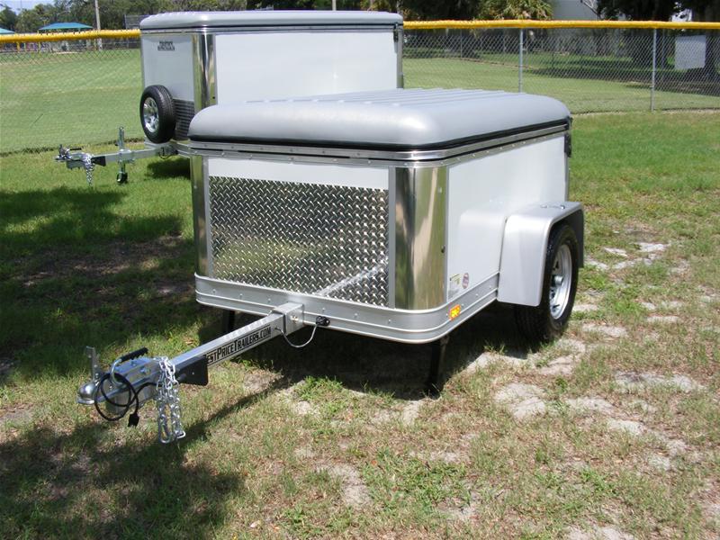 Haulmark 4x6 Enclosed Single Axle Cargo Trailer