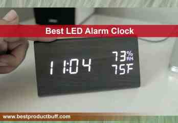 Top 10 Best LED Alarm Clocks 2020 Review