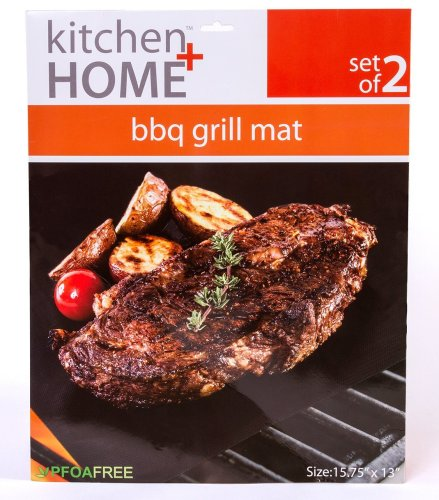 Kitchen + Home - BBQ Grill Mats -The best large grill mat for general application