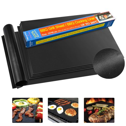 KITMA Grill Mat -The most ideal grill mat for concrete patio