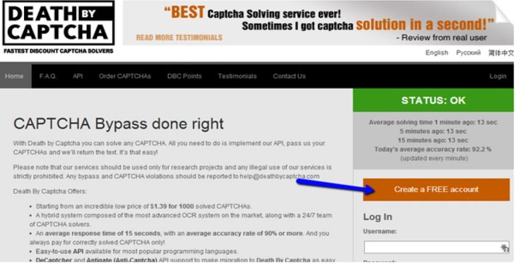Best Service for Captcha Breaking with Proxies