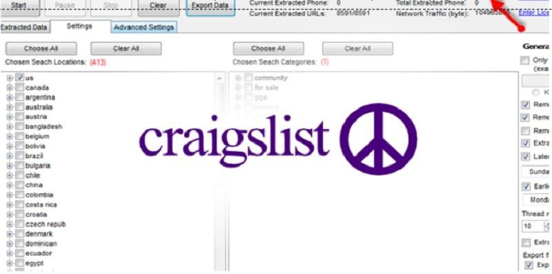 Scraping Craigslist Data with Software