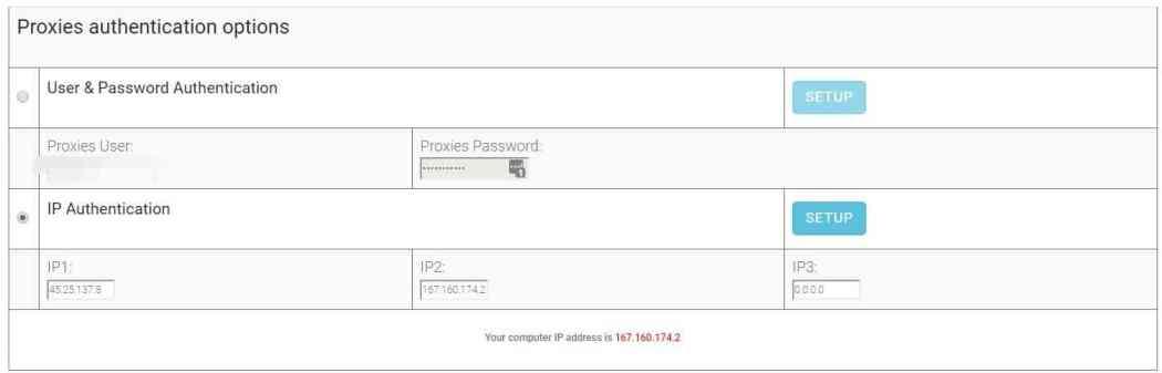 Proxy Authentication