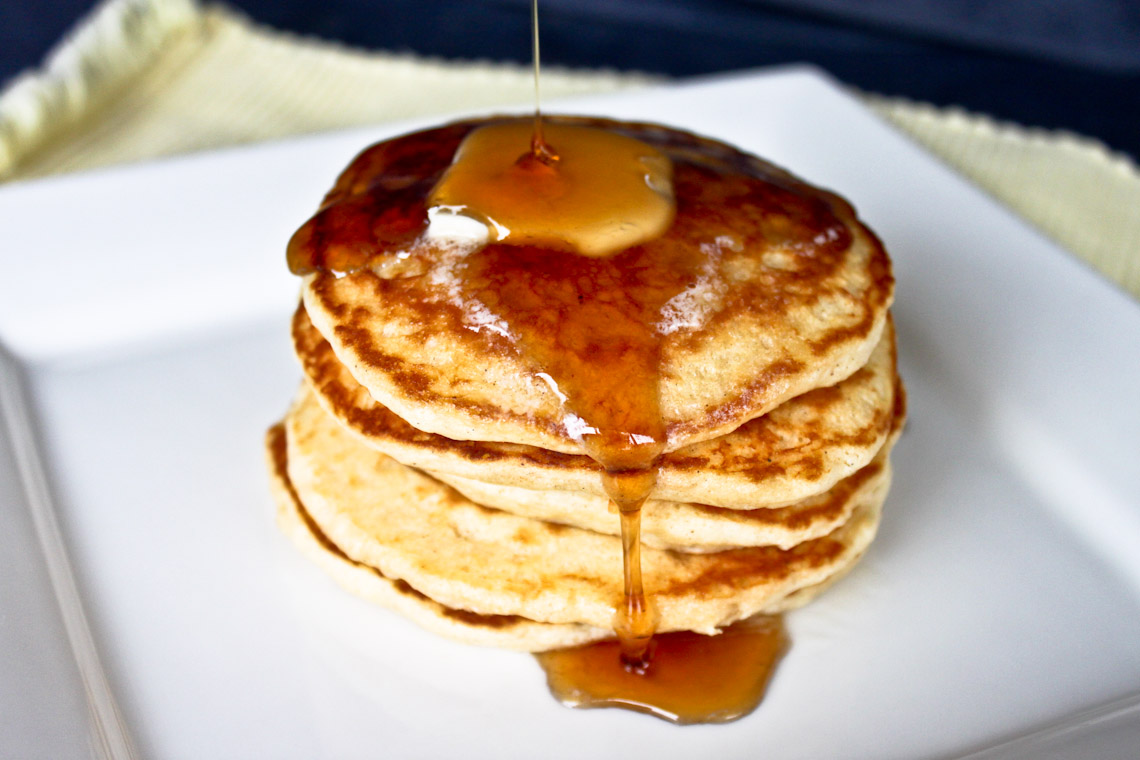 Chef John Old Fashioned Pancakes
