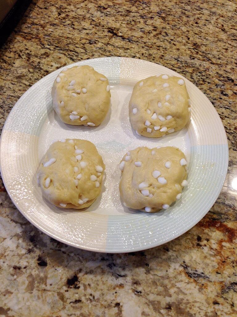 liege waffle dough balls