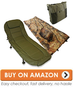 fishing chair bed reviews ngt bedchairs top 10 best carp sleep systems this is a neat package of comfortable bedchair with the usual six leg set up for added support and stability plus sleeping bag