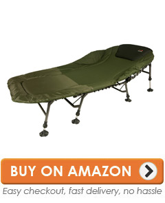 fishing chair bed reviews with table attached bedchairs top 10 best carp sleep systems 1 tf gear chill out giant