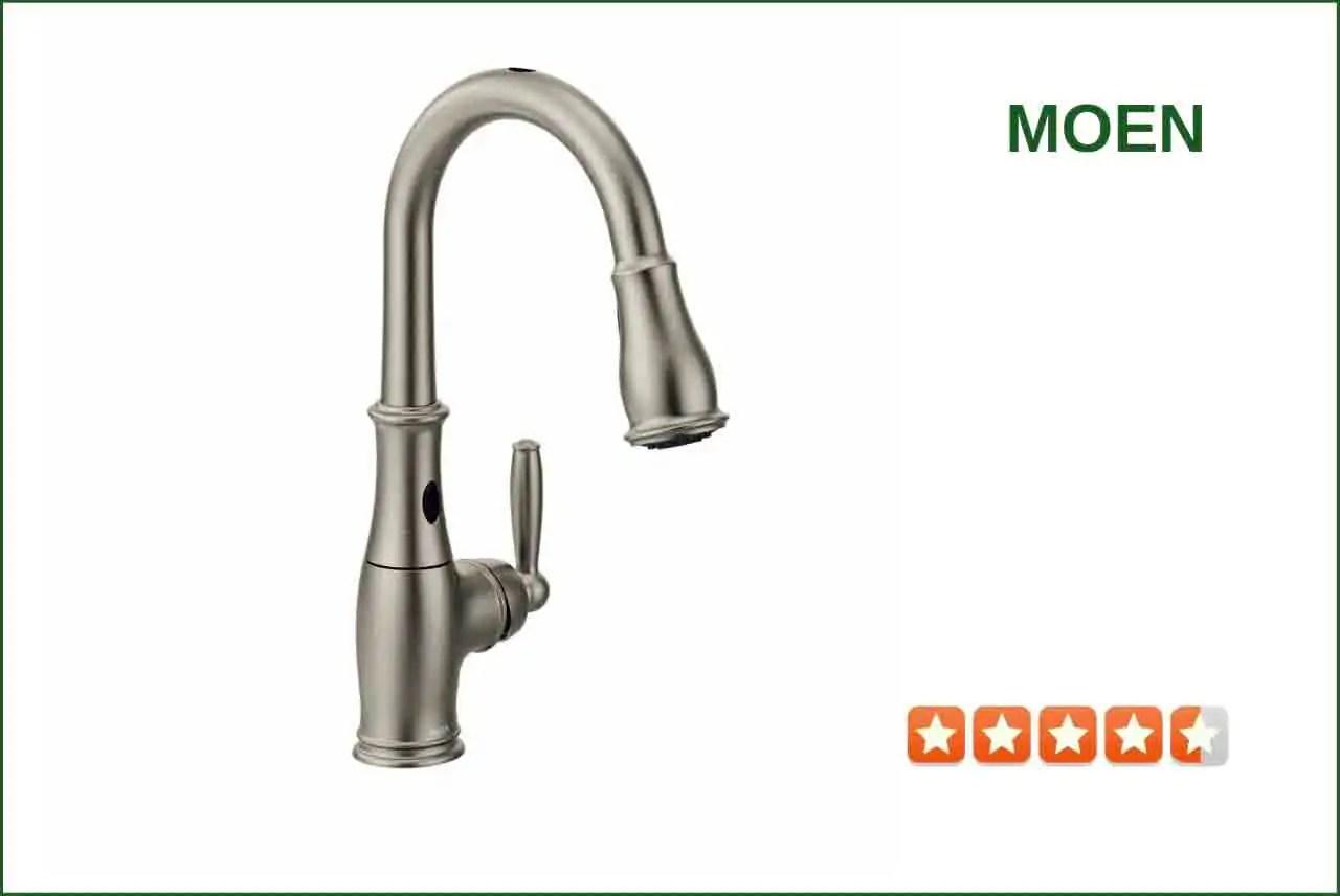 Moen 7185ESRS Touchless Kitchen Faucet  Best Reviews for