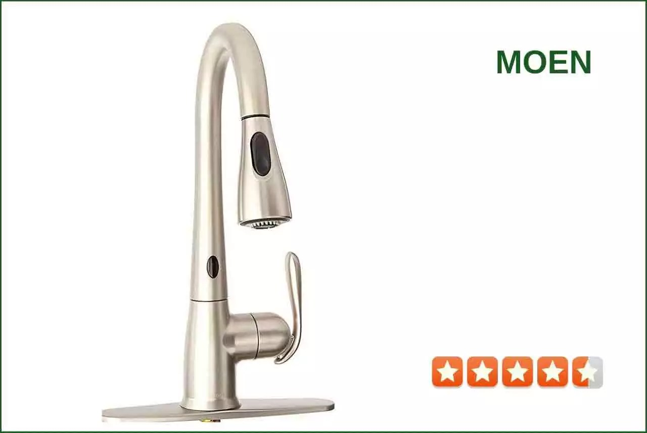 Moen 87350ESRS Touchless Kitchen Faucet  Best Reviews for