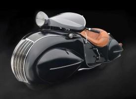 Henderson KJ Streamline Motorcycle, 1930