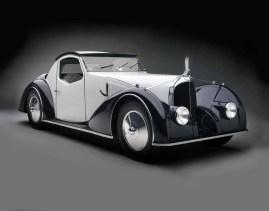 Voisin Type C27 Aérosport cupê, 1934