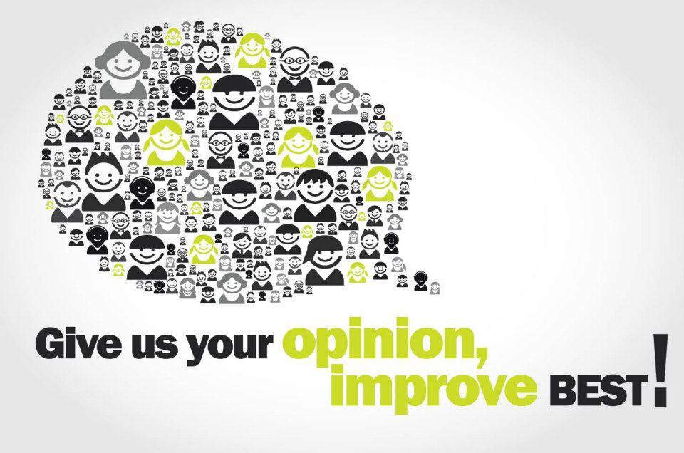 Aiutaci a migliorare i servizi BEST!