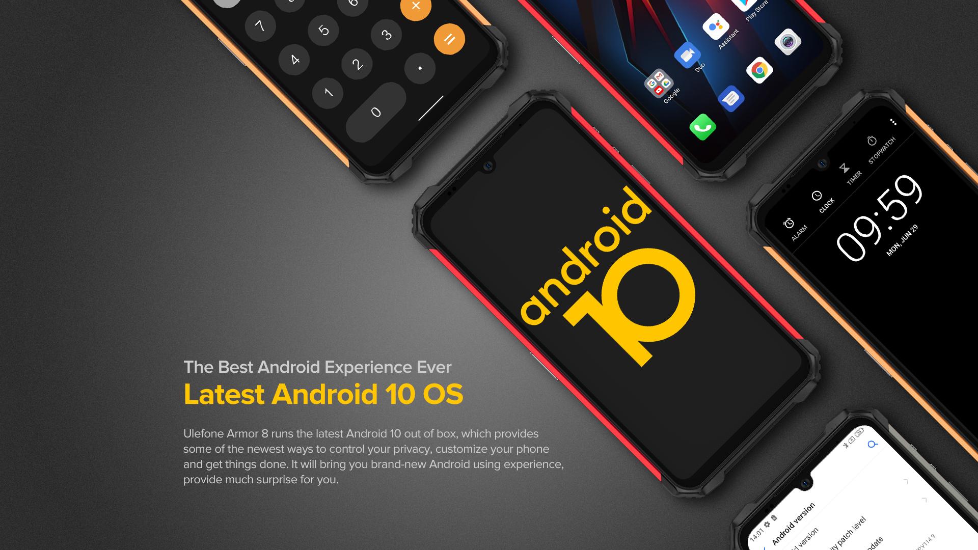 Ulefone Armor 8 Super Rugged Phone Global Version   BestRugged.com
