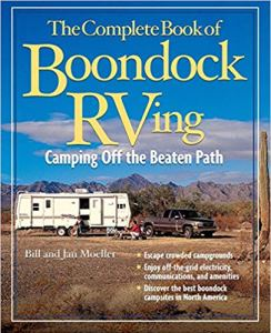 The Complete Book of Boondock RVing: Camping Off the Beaten Path  -  Books About Boondocking