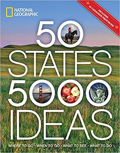 50 States, 5,000 Ideas: Books About RVing with Kids
