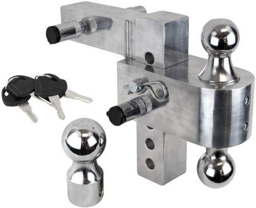 Uriah Products Adjustable Aluminum Trailer Hitch Mount