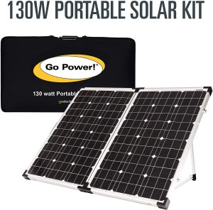Gopower foldable top ten RV solar panels
