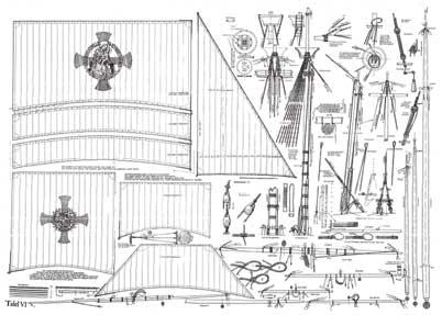 Christopher Columbus Santa Maria ship model plans.