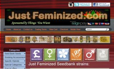 Just Feminized Seed Bank Review