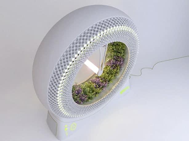 wpid indoor rotary hydroponic garden design libero angled