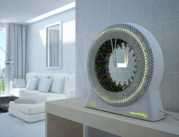 wpid indoor rotary hydroponic garden design libero fits on shelf
