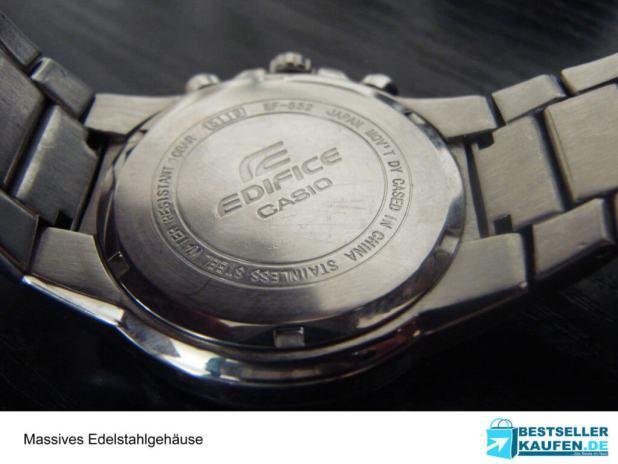 Edelstahl Armbanduhr