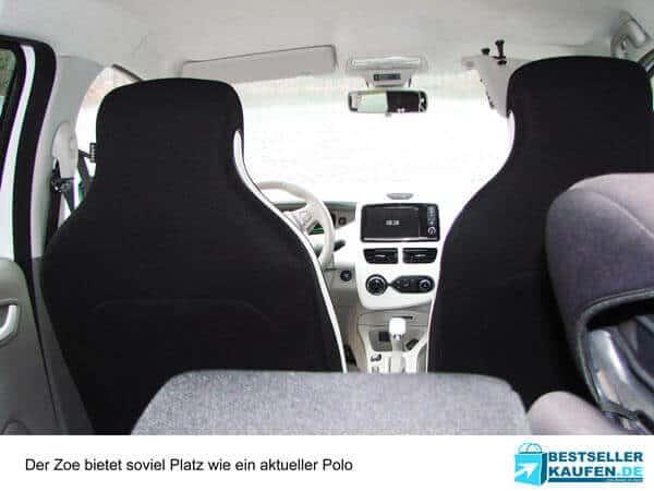 Innenraum Renault Zoe