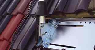 Halterung am Dach Schüssel TV Markise