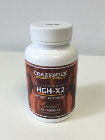Crazy Bulk HGH X2 bottle