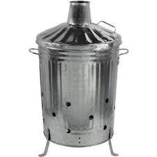 Galvanised Incinerator (Fire Bin)